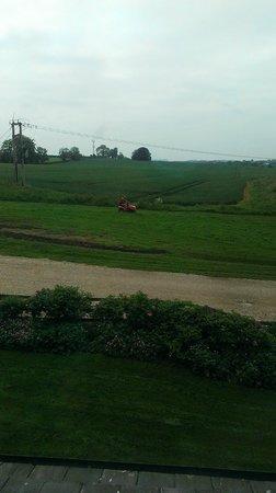 Murcott Mill Farmhouse: View across the fields from front window