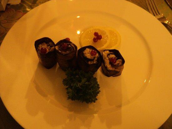 Dolmama Restaurant: Eggplant Roulade