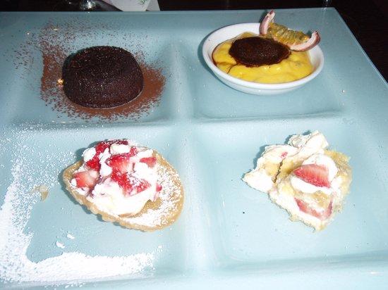 Ristorante Re Lear : Desserts To Die For!