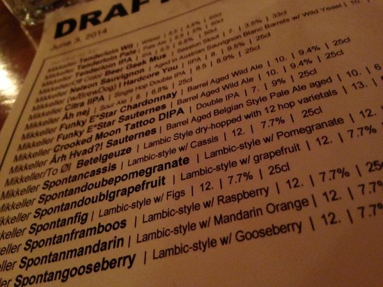 Mikkeller Bar: Mikkeller 42 tap takeover - ridiculous!