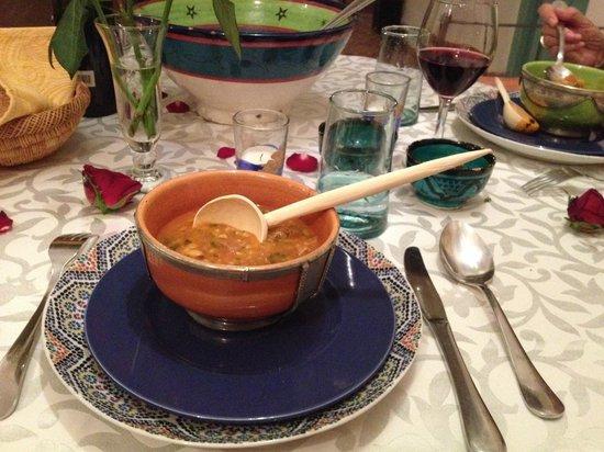Riad Helen : La sopa no se la pueden perder