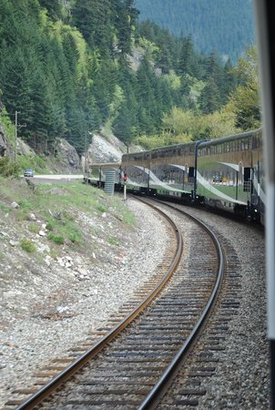 The Rocky Mountaineer: Rolling down the track
