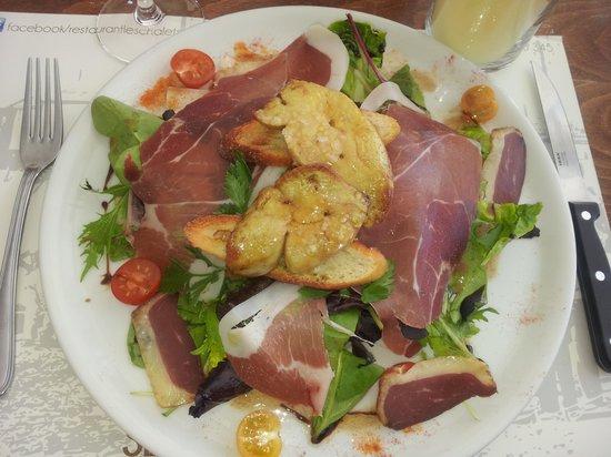 salade photo de restaurant les chalets gruissan tripadvisor