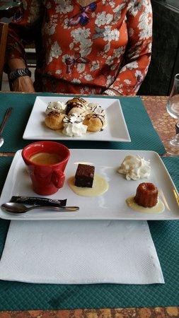 Même les desserts sont sympa