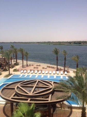 Hilton Luxor Resort & Spa: Uitzicht vanaf hotelkamer