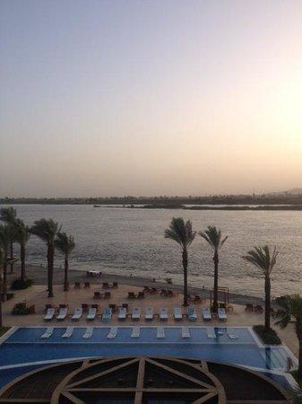 Hilton Luxor Resort & Spa: Avond uitzicht