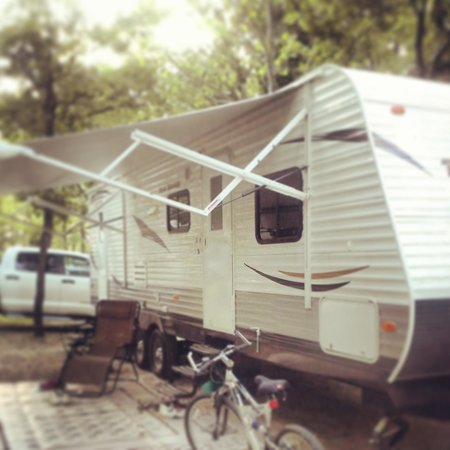 Silver Dollar City's Wilderness: camp site 149