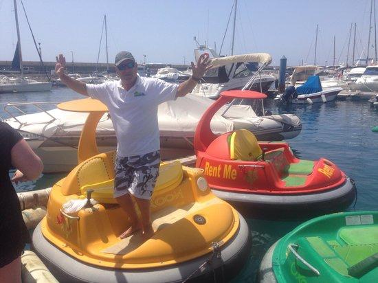 WaterBuggy Fun: Great Guy!