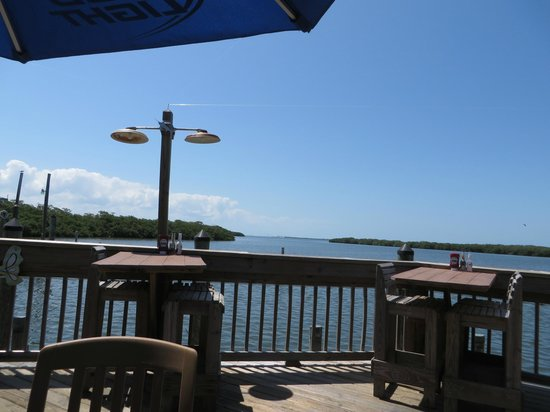 Swordfish Grill: View from the deck