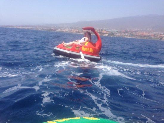 WaterBuggy Fun: Bobbing along...