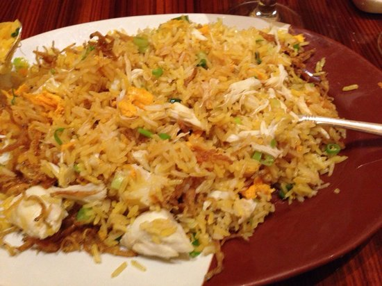 Noodles: Crab Fried Rice- outstanding