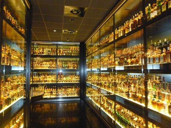 The Scotch Whisky Experience: Coleção de whisky