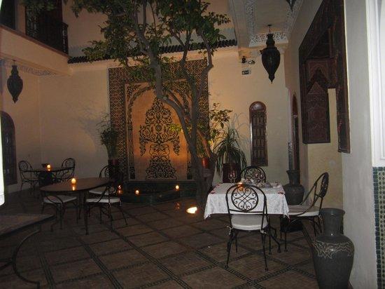 Riad Granvilier : Le patio