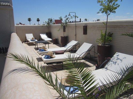 Riad Granvilier : La terrasse !!