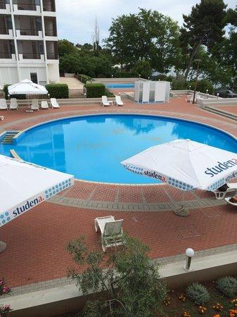 Hotel Kolovare : The pool