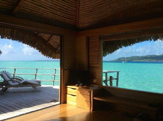 Tahaa, Polinesia Francesa: View from our room (partial)