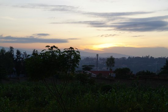 Marasa Umubano Hotel: Beautiful morning
