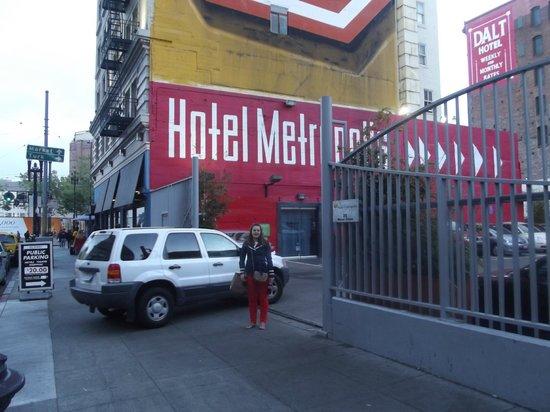 Hotel Metropolis: het hotel