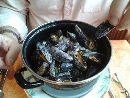 Restaurant l'Escale : Moules mariniere