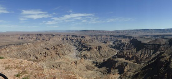 Fish River Canyon: panorama