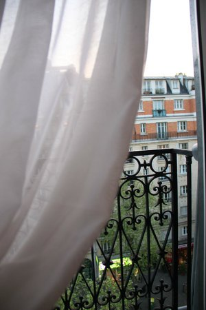 Hotel Adriatic: Widok z okna