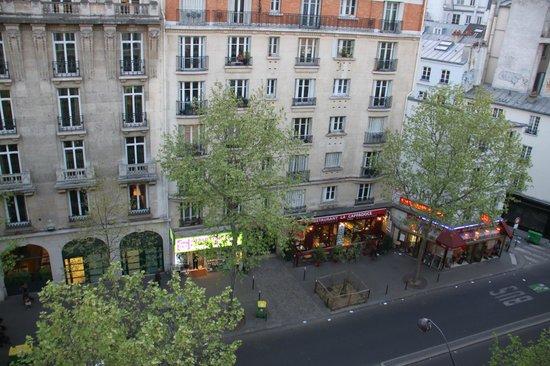 Hotel Adriatic : Widok z pokoju