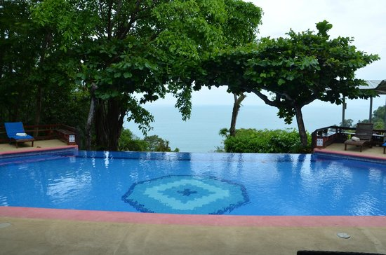 Hotel Parador: Pool area