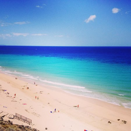 TUI MAGIC LIFE Fuerteventura: Beach view from hotel