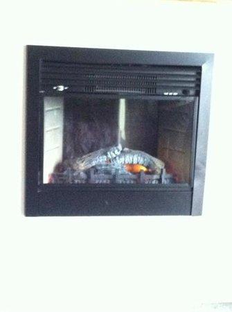 Chautauqua Lodge : Working fireplace