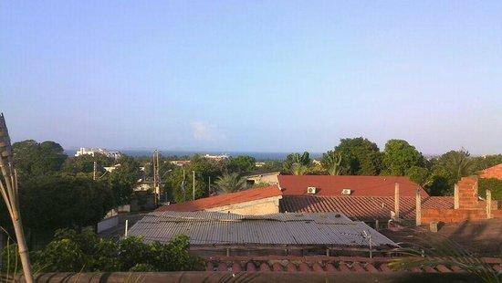 Posada Guaicora: Vista desde la Terraza