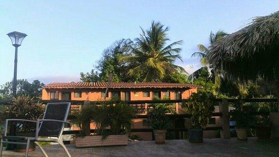 Posada Guaicora: Vista de la terrazas a las habitaciones