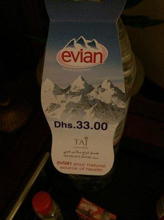 Jood Palace Hotel Dubai: No free Water for Coffee/Tea