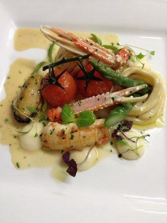 Il Folletto Ristorante: Warm seafood salad