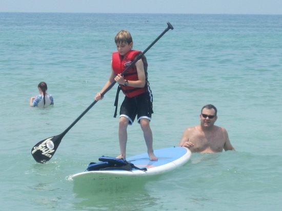 Sarasota Paddleboard Company: My 9 year old having a turn