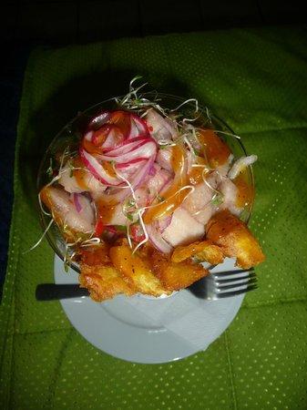 Posada Guaicora: El ceviche