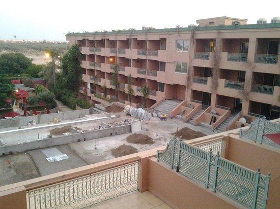 Sofitel Marrakech Lounge and Spa : travaux