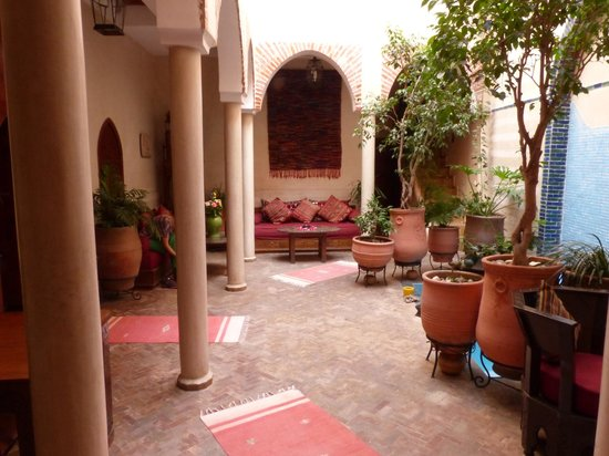 Riad Zen House : The ground floor