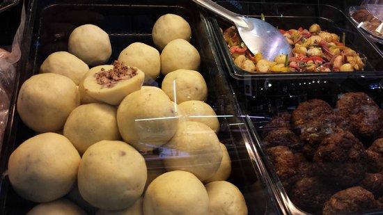 Östermalm Saluhall: Stuffed Potatoes
