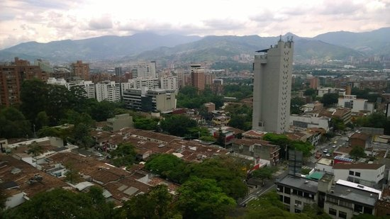 Diez Hotel Categoria Colombia: View from my room