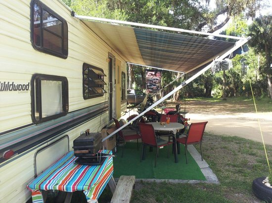 Ocala Forest Campground : Biker friendly