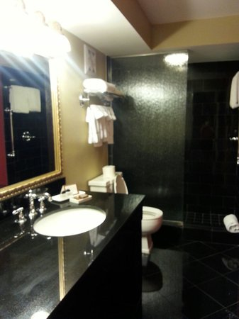 Bourbon Orleans Hotel : Petite balcony double bathroom-renovated and very nice!