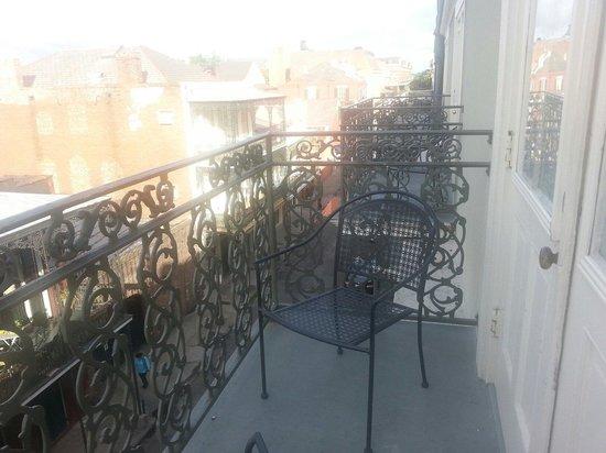 Bourbon Orleans Hotel : Petite balcony