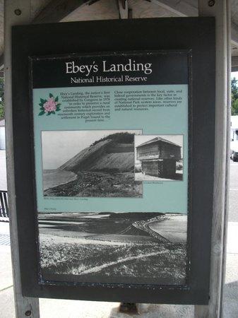 Ebey's Landing National Historical Reserve: Signboard