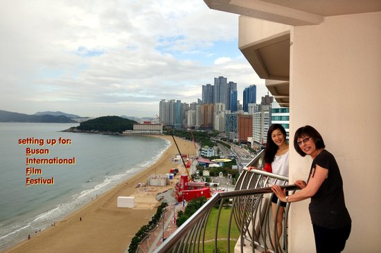 View From Paradise Hotel Picture Of Haeundae Beach Busan