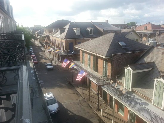 Bourbon Orleans Hotel : View from Balcony on St. Ann.