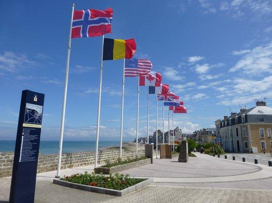 Camping Sandaya la Côte de Nacre : St Aubin promenade