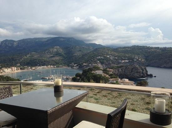 Jumeirah Port Soller Hotel & Spa: view from sunset lounge