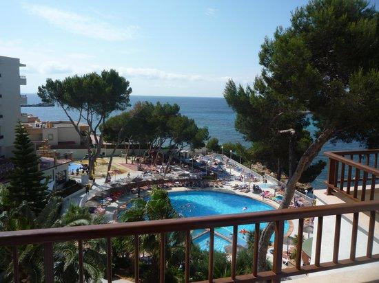 Intertur Hotel Miami Ibiza : seaview from room