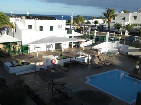 Club del Carmen: view from balcony