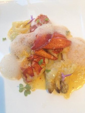 Jumeirah Port Soller Hotel & Spa: fabulous lobster in Cap Roig